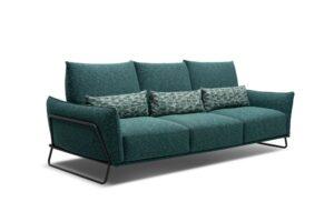 CUBO ROSSO NUVOLA modulares Sitzsystem mit verstellbarer Rückenlehne dreisitzer Sofa Polstermöbel