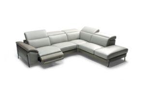 CUBO ROSSO POLARIS klassische elegante Couch Funktionssofa Wohnlandschaft