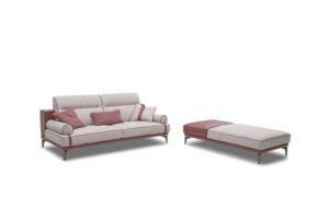 CUBO ROSSO VOYAGE feine modulare Couch modernes Sofa Polstermöbel Wohnlandschaft