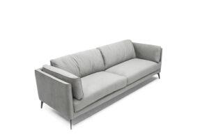 CUBO ROSSO RAUL raffiniertes dreisitzer Sofa bequeme Couch Polstermöbel