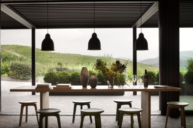 pratic pergola anbau beispiel wohnideen Pavillon Überdachung inspiration 2-min