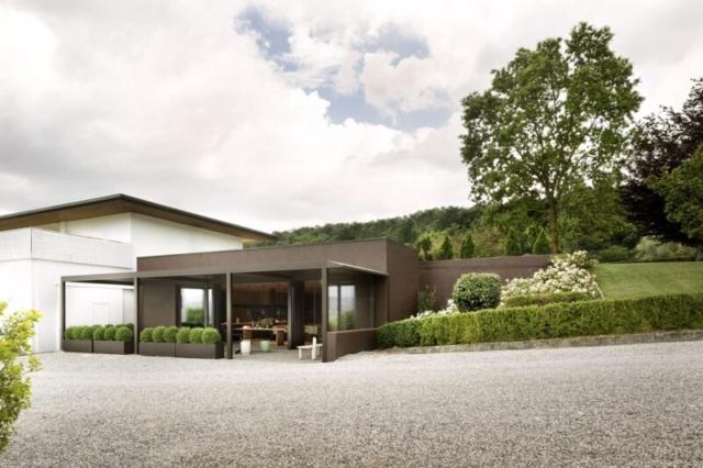 pratic pergola anbau beispiel wohnideen Pavillon Überdachung inspiration-min