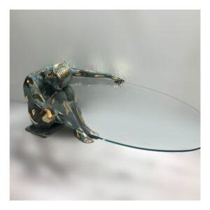 Handwerkskunst, Glasobjekte, Glastische, Couchtische