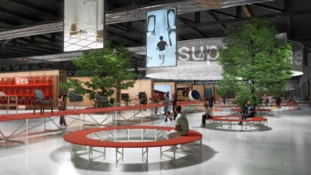 supersalone möbelmesse Mailand Konzept September 2021 1-min