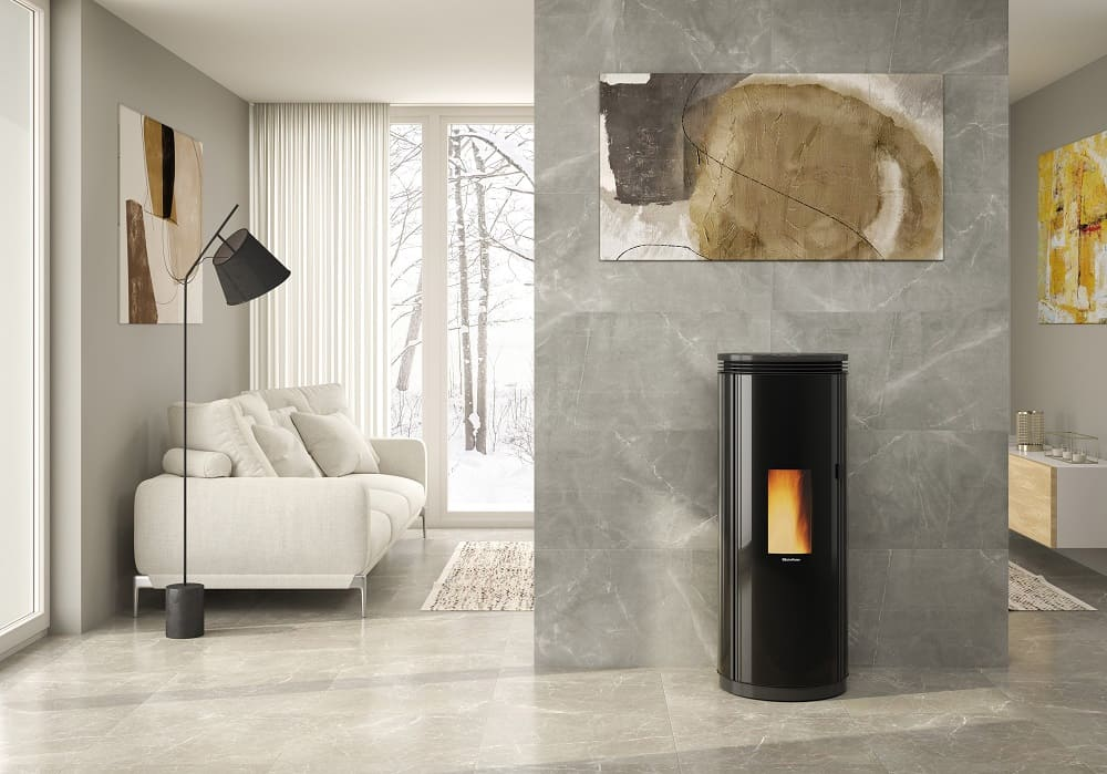 La-Nordica-Extraflame-elegante-runde-Pelletoefen-Kaminofen-PAMELA